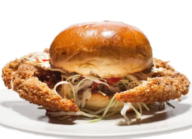 The Fried Soft Shell Crab Sandwich…(how to make 'em at home)