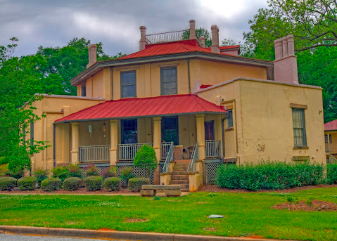 Octagon House in South Carolina