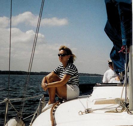 A family sailing